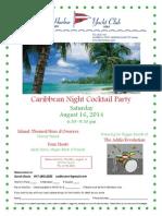 AHYC Caribbean Night