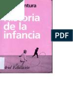 Buenaventura Delgado, Historia de La Infancia