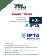 IPTA Regulatory Update