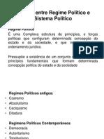 1. Conceito de Regimes e Sistemas Politicos e a Centralidade Da Frelimo