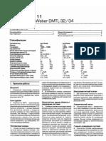 Weber DMTL 32-34