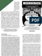 Miserocracia N°1 PDF
