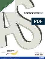 The Agenda Setter 2007