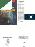 Da Geografia Que Se Ensina à Gênese Da Geografia Moderna - R.Q.F. do A PEREIRA 1.doc