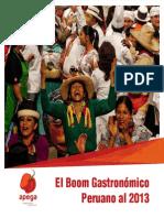 Boom Gastronomico Peruano Al 2013 Web