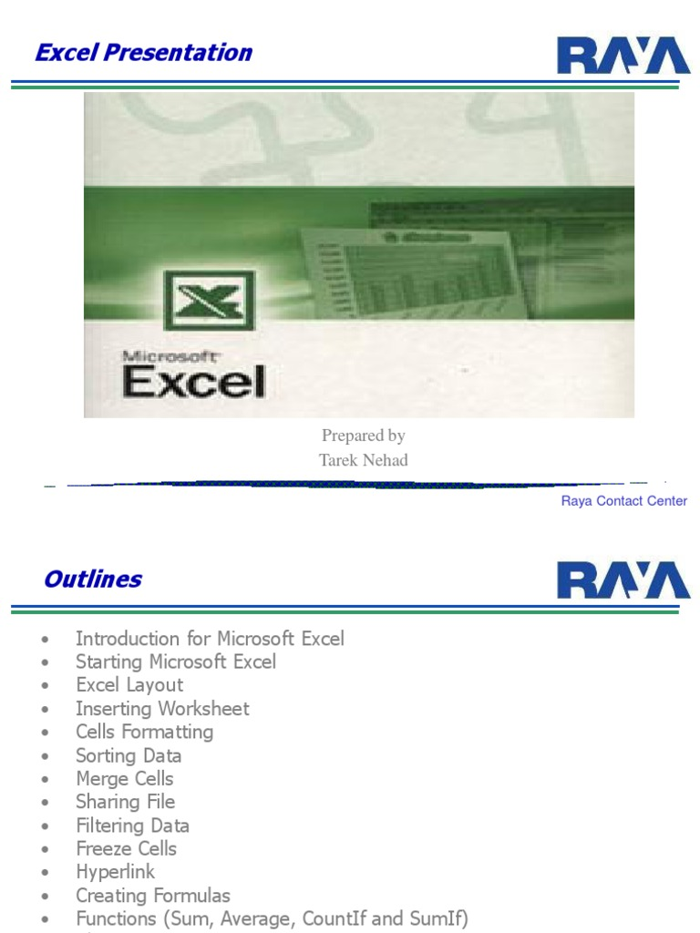 Excel Material | Microsoft Excel | Menu (Computing)