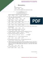 Listas de Progressões aritimeticas e geometricas 1