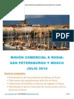 Misión Comercial a Rusia _ Julio 2014 _ by Ruscomerz