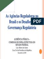 As Agências Reguladoras SENADO 2009 010814