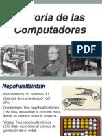 Historia de las.pptx