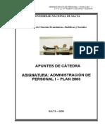 Personal I - Apuntes de La Catedra