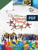 Booklet Pariwisata Kabupaten  Belitung Timur