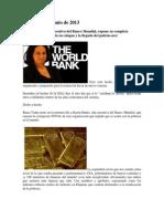 Banco Mundial Bancarrota y Fraude. Comercio Interpacifico y Repercusiones Geoeconómicas