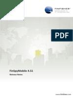 Gamma - FinSpyMobile 4.51 Release Notes