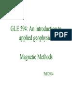 Applied Geomagnet