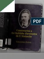 Comentarios a Así Hablaba Zaratustra. Estanislao Zuleta. Capituo I.pdf