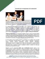 Rector UTP Reconocido Por El Compromiso Con La Educacin