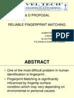 Atm terminal design based on fingerprint