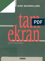 Jean Baudrillard - Tam-Ekran