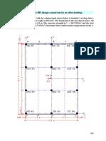 Design a small mat for an office building ------------------------------------  aci  ------------