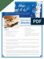 2011 Pillsbury Recipes
