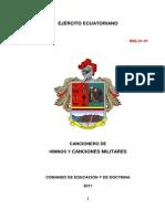Manual de Canciones Militares