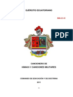 Manual de Canciones Militares
