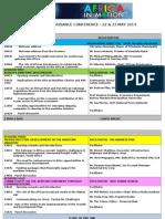 African Renaissance - Conference Programme