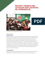 Elaboración y Manejo Del Registro Auxiliar Con Las Rutas Del