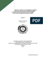 Modul Dewa89s Sistem Pendukung Keputusan Pemberian Kredit