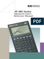 HP 48G Series Advanced User's Reference Manual 4e - 1994
