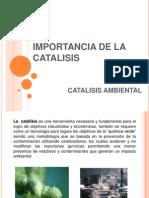 Importancia de La Catalisis