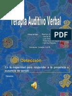 terapia auditivo verbal