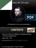 Guillermo de Occam
