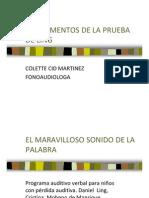 FUNDAMENTOS DE LA PRUEBA DE LING