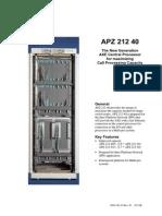 APZ21240 Hardware