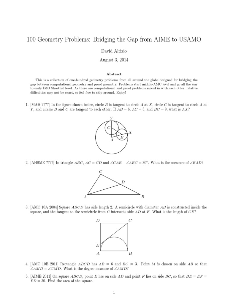 Collection of Geometry Problems | Triangle | Perpendicular