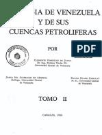 Geologia de Venezuela y Sus Cuencas Petroliferas Vol-II