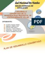 Analisis Del Plan de Desarrollo Concertado