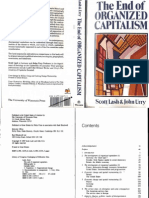 Lash Urry Organized Capitalism
