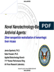 ColloidalSilver Nanoparticles Hemorrhagic Fever Viruses (ebola)