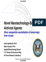 ColloidalSilver Nanoparticles Hemorrhagic Fever Viruses (ebola)