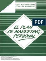 El Plan de Marketing Personal 1 to 60