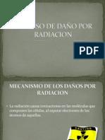 Proceso de Daño Por Radiacion