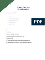 trabajo practico de matematica 5ºb