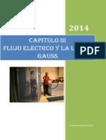 Chapter III. Fisica III. Flujo Eléctrico y La Ley de Gauss 2012