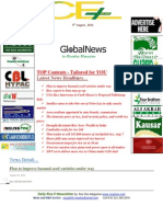 5th August,2014 Daily Global Rice E-Newsletter by Riceplus Magazine