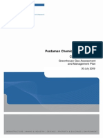 Appendix e - Greenhouse Gas Assessment