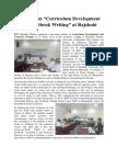 "Seminar on ""Curriculum Development and Textbook Writing"" at Rajshahi"