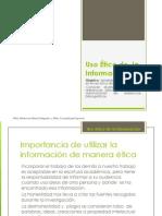 Uso Ético de La Información